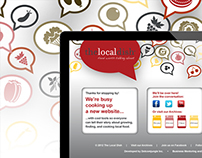 The Local Dish | Website | Splash Page