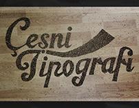Çeşni Tipografi