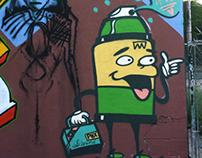 Painting Tucson.