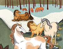 YEAR OF HORSE 2014 - Calendar Project