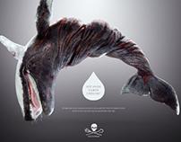 Campanha de Proteção aos Animais. Sea Shepard