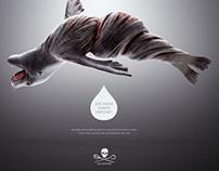 Campanha de Proteção aos Animais. Sea Shepard.