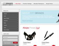 CityBrands - Online Store