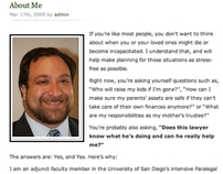Website Copy: About Me Bio for Estate Planning Attorney