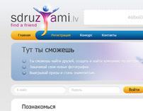 Sdruzjami - Social Website Design