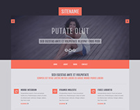 Free PSD Template from alltemplateneeds.com