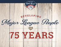 Little League's 75th Anniversary Microsite