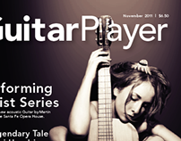 GuitarPlayer Magazine Redesign