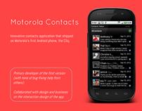 Motorola Contacts App