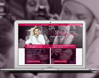 Landing page for Elena Krigina