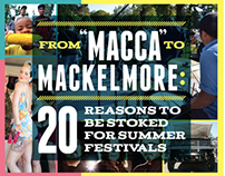 Summer Festival City Life Cover - Tacoma Weekly