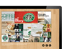 Interactive Web Technique (Starbucks)