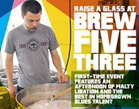Brew Five Three - City Life Cover for Tacoma Weekly