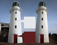Lighthouse Photoshop Colour Visualisation Renders
