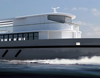 Borneo passenger boat