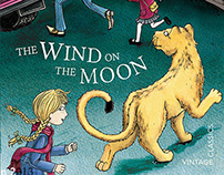 The Wind on the Moon - Eric Linklater - Cover Art