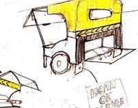 Sadak Chaap: Kiosk design