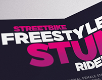 CHESCA MILES // UK Streetbike Freestyle Stunt Rider