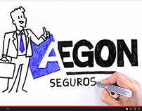 AEGON SEGUROS TV Commercial & Visual Thinking
