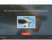 UpSolution - Marketing One Page HTML5 Template