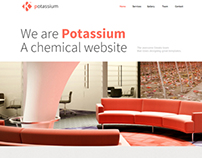 Potassium - Responsive One Page Template