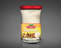 Packaging Mayonnaise ZAKIA