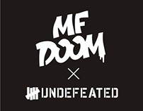 UNDFTD x MF DOOM T-shirt