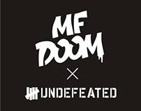 UNDFTD x MF DOOM T-shirt