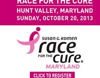 Susan G Komen, Maryland Ad