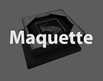 """Maquette """"crocodile"""""""