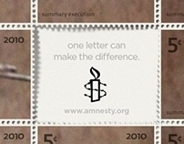WRITE TO MAKE A DIFFERENCE - AMNESTY INTERNATIONAL
