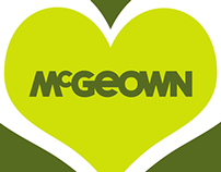 Brand Promotion, Design and Film : McGeown's