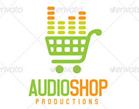 Audio Shop Logo Template