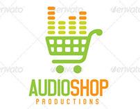 Audio Shop Logo Template