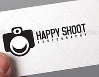 Happy Shoot Logo Template