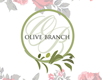 Olive Branch Floral and Interior Design Branding
