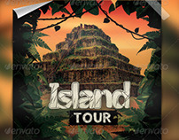 Island Tour Flyer Template