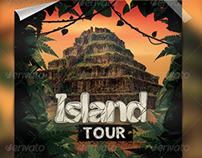 Island Tour Flyer Template