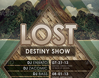Lost Flyer Template