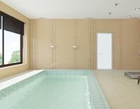 NOVAYA RIGA swimming pool, hammam, wc