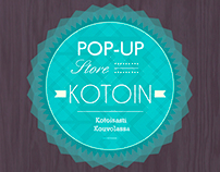 Pop-up store KOTOIN