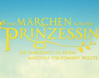 Main Title Design for a fairytale movie, 2013