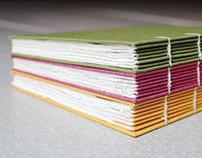 Coptic Stitch Gratitude Journal (more colours)