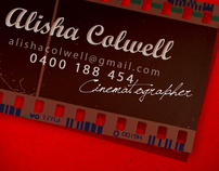 Cinematographer / Photographer Business Card