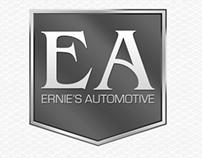 Ernies Automotive Website