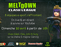 Communication de la Meltdown Clash League