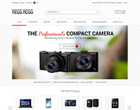 Regg Regg Ecommerce websited
