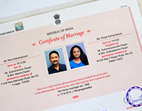 Birth,Death & Marriage Certificates