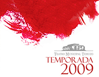 Diseño Teatro Municipal de Temuco 2009