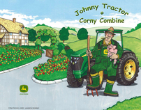 John Deere - Children's coloring booklet